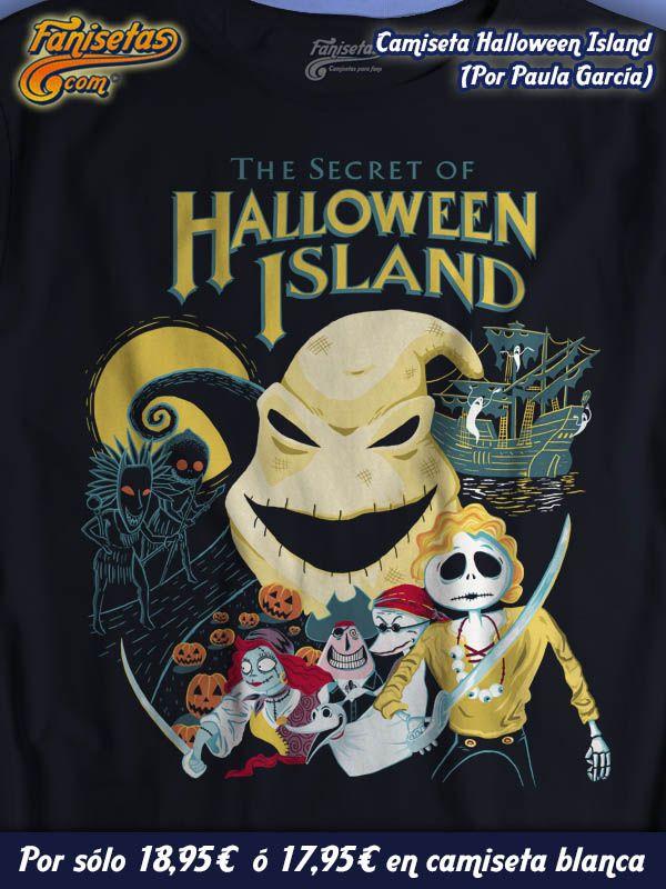 """""""The Secret Of Halloween Island"""" Donde los personajes de 'Pesadilla Antes De Navidad' toman el relevo de #Guybrush y compañía para descubrir los secretos que alberga Halloween Island. Basado en el mítico #videojuego de #LucasArts """"The Secret Of Monkey Island"""" #Camisetas #Fanisetas #FelizViernes http://www.fanisetas.com/camiseta-the-secret-of-halloween-island-p-5972.html"""