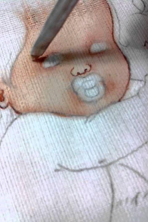 vídeo n 13 como pintar pele morena em fraldas , com Graça Camilo