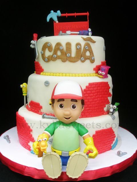 Handy Manny cake by Kylla'sweets, via Flickr