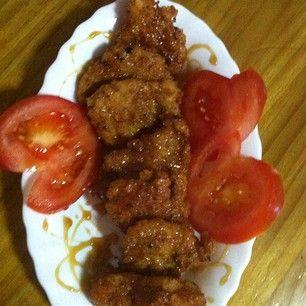 Solomillo de cerdo con reducción de salsa de soja, vinagre y miel! #japonesa #comida