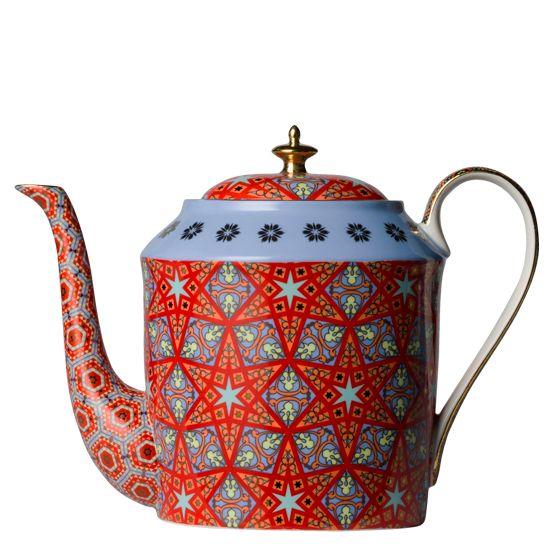 Magic Carpet Ride Bahamas Large Teapot
