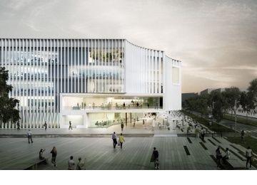 Beaudouin Architectes et MGM pour le Learning Center de Paris-Saclay - D'architectures