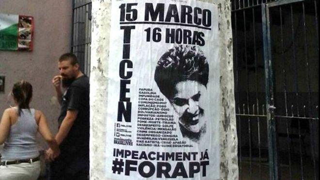 Quem financia os protestos anti-Dilma? Quem são as pessoas que organizam o movimento golpista, travestido em movimento pró-impeachment? O grande negócio obscuro dos grupos Vem pra Rua, Revoltados on Line e o Movimento Brasil Livre, que coordenam e organizam o movimento anti-Dilma e anti-PT foi objeto da investição da BBC Brasil - Pagina do E - Pagina do E