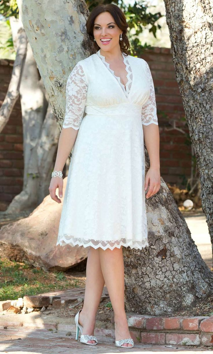 Check out the deal on Wedding Belle Dress at Kiyonna Clothing