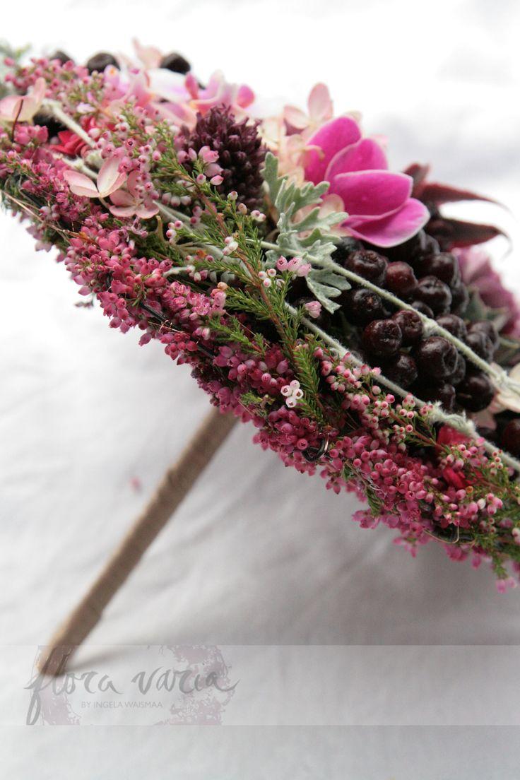 #floravaria #bridal #bouquet #wedding #stylish #eleganr #rustic #rough by Ingela Waismaa @Floravaria