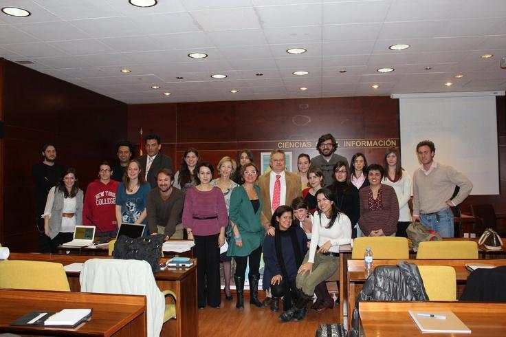 La II Promoción de Expertos en Periodismo Gastronómico y Nutricional de la UCM. (@nuriblan). 2011
