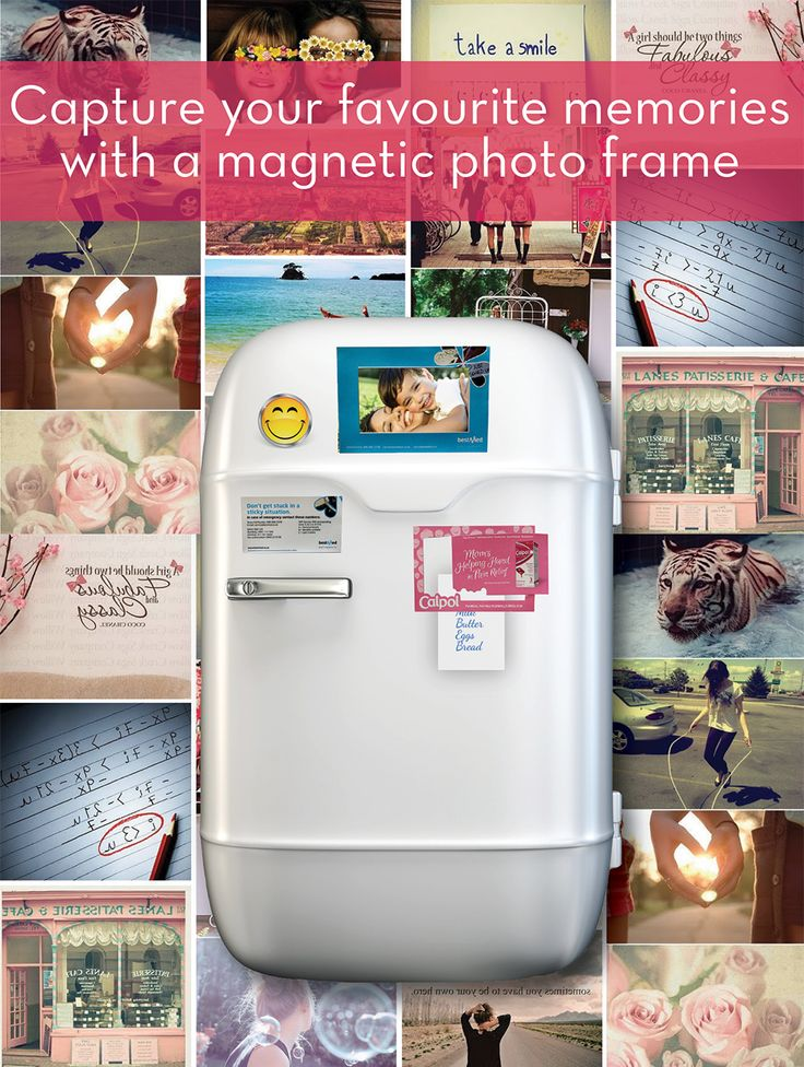 Our picture frame magnets are ideal for advertising your business and for framing special memories. The centre of the frame magnet can be used as an additional fridge magnet which will advertise your business.