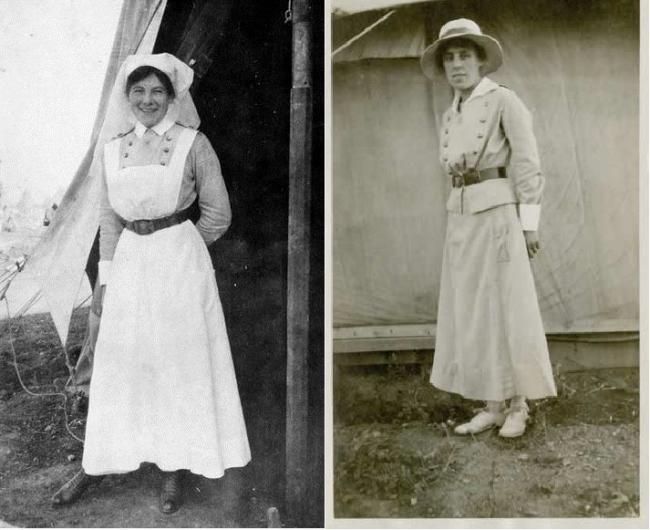 Image result for working dress ww1 nurse