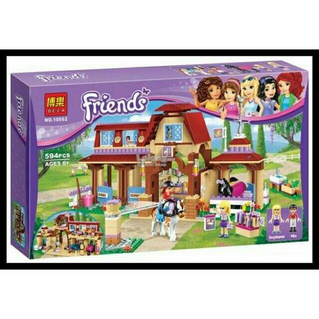 Temukan dan dapatkan Lego KW Bela 10562 Friends - Heartlake Riding Club HARGA HEBOH hanya Rp413.000 di Shopee sekarang juga! https://shopee.co.id/folliero/413962671 #ShopeeID