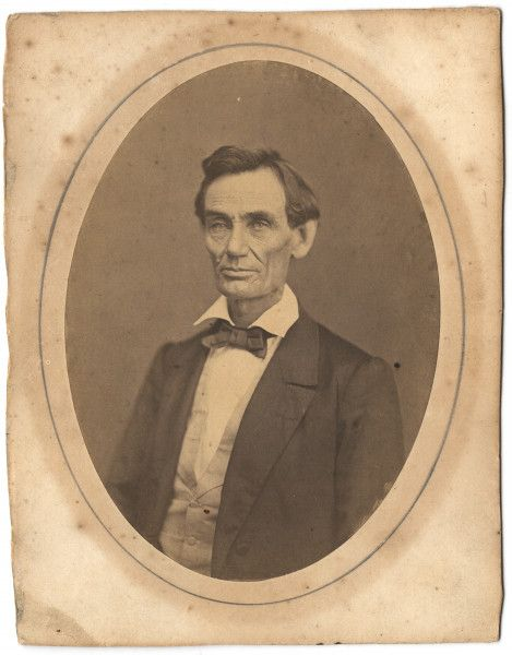 Abraham Lincoln, photographed in Springfield, 1859