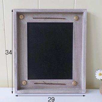 Кафе-бар Магазин ПОП доска сообщение меню знак ретро деревянные Информационный Бюллетень Доска Для Рисования декоративная тарелка знак черная доска