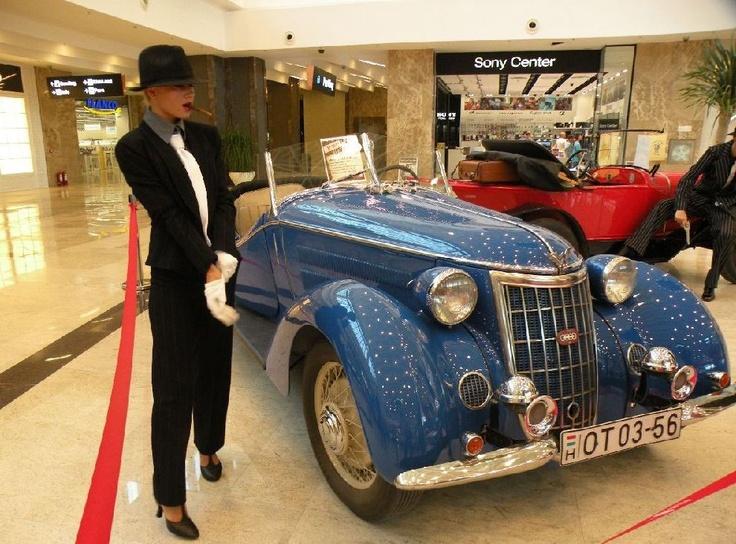 Expozitia de Masini de Epoca la Palas Mall