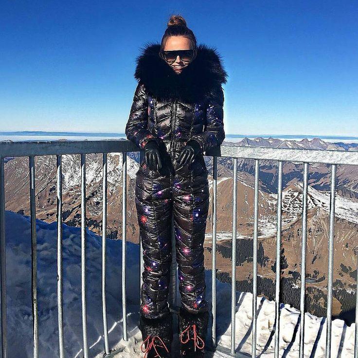 Model  Xenia Deli  @xeniadeli in Marta Space jumpsuit by ODRI . #outerwear #women #ladiesfashion #fashion #luxury #girls #ladies #jumpsuit #sexy #oslo #courchevel #canada #italy #netherlands #france #newyork #usa #soelden #dublin #dubai #uae #dubaifashion #abudhabi #courchevel #annalilyshop #switzerland