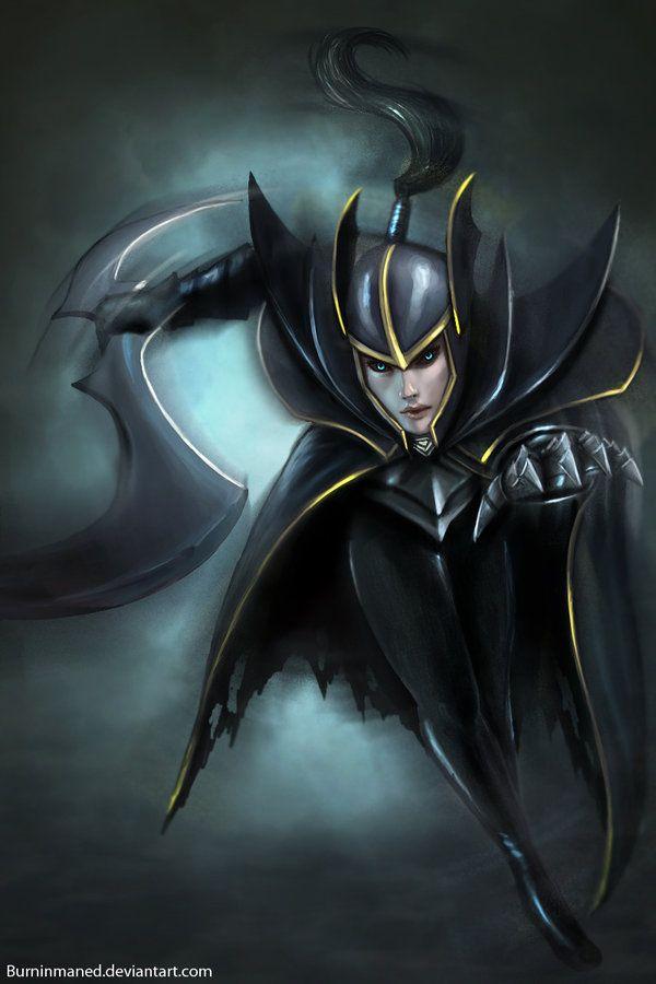 Phantom Assasin by Burninmaned.deviantart.com on @deviantART