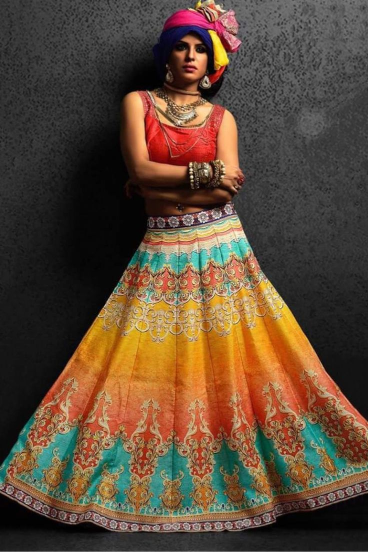 The Stylish And Elegant Lehenga Choli In Red Colour Looks Stunning And Gorgeous With Trendy And Fashionable Digital Print . The Banglori Silk,Cotton Fabric Party Wear Lehenga Choli Looks Extremely Att...