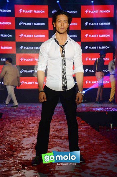 Tiger Shroff at the Launch of new fashion brand 'Planet Fashion' at Hotel Taj Lands End in Bandra, Mumbai
