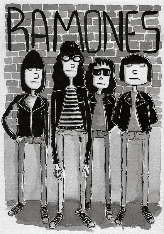 Ramones  #poster #cartaz da  Farmácia do Remedios