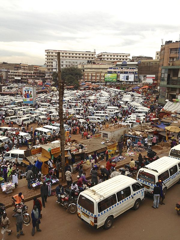 This is Kampala, Uganda. Kampala is the capital of Uganda. It is known as the green city in the sun and spreads over more than twenty hills. It is one of the fastest developing cities in Africa.