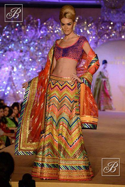Abu Jani Sandeep Khosla designer lehenga collection
