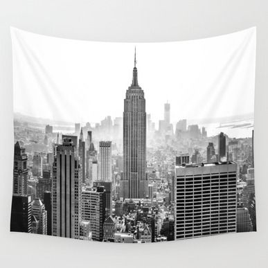 Wall Tapestry featuring New York City by Studio Laura Campanella