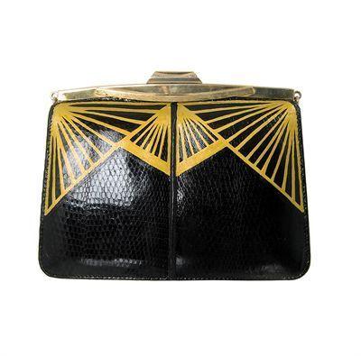 Art Deco Clutch. @Deidré Wallace