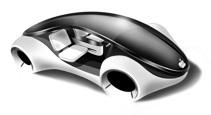 Az Apple iCar lehetséges dizájnja, innovatív, szép, futurisztikus