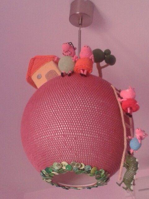 Lámpara de Peppa Pig