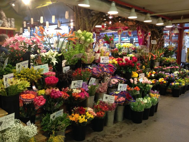 Granville Island Flowers