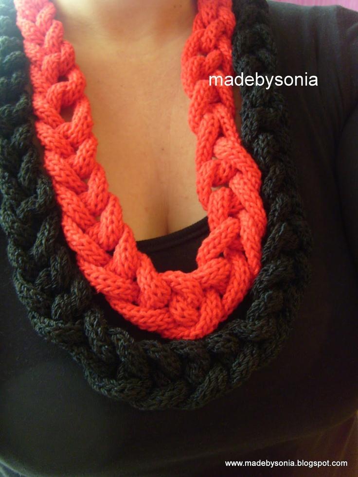 Spool knitting project