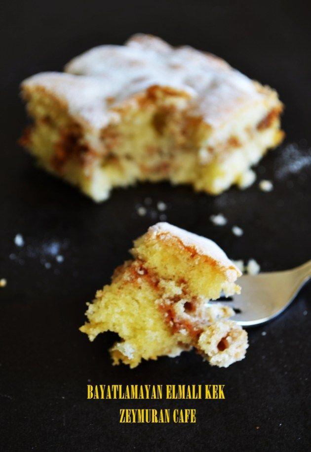 elmalı kek(bayatlamayan)