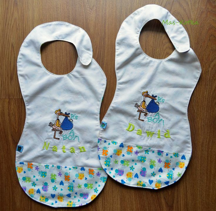 The bib with a pocket