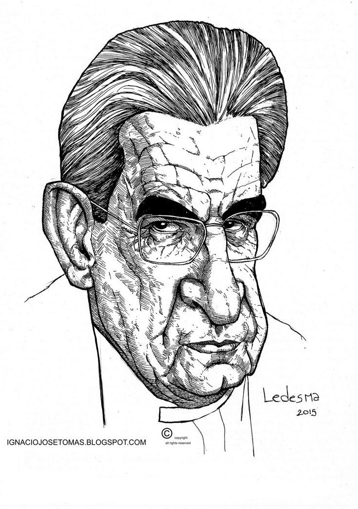 Jacques Lacan, tinta sobre papel, 2015