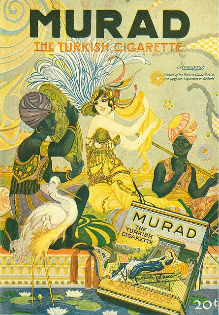Murad Tobacco Ad  -  by Willy Pogany