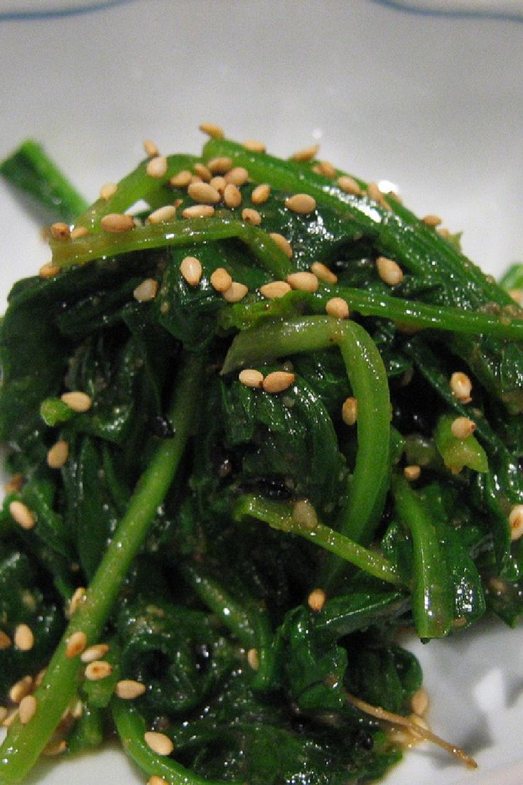 ... Spinach on Pinterest | Sauteed Spinach, Garlic and Garlic Spinach