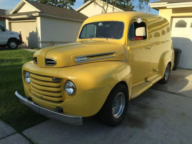1949 Ford F1 Panel Delivery Truck Hot Rod Nice Florida Car Classic Ford Other 1949 For Sale For Ford Trucks Classic Ford Trucks Classic Cars Trucks Hot Rods