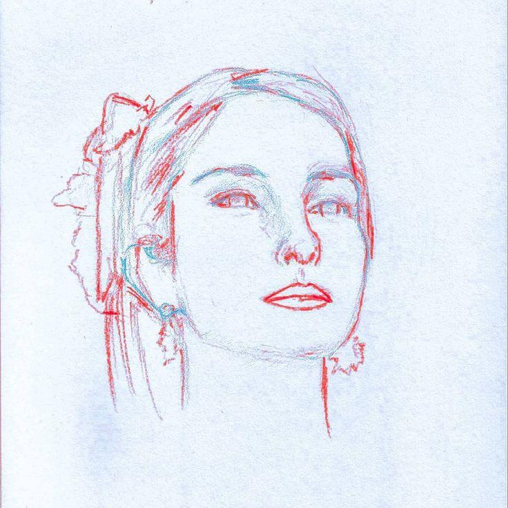 """43 Me gusta, 5 comentarios - Nicolás Correa (@j_nco26) en Instagram: """"Reference: Denisse Rosenthal ••••••••••••••••••••••••••••••••••• Visit my gallery of drawings…"""""""