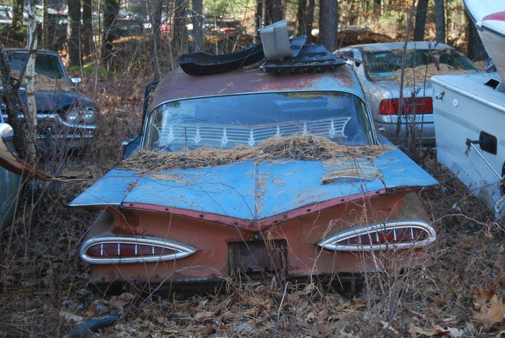 116 Best Old Salvage Yards Images On Pinterest