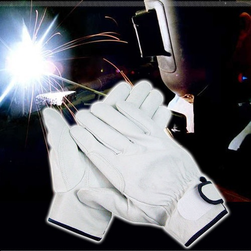 Handmax TIG MIG Leather Work Welding Gloves 2 Pairs Cotton Liner White Color | eBay