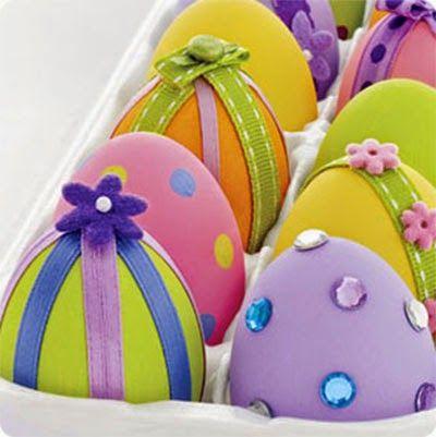 Βάψιμο πασχαλινών αυγών - 12 υπέροχες και ιδιαίτερες τεχνικές!
