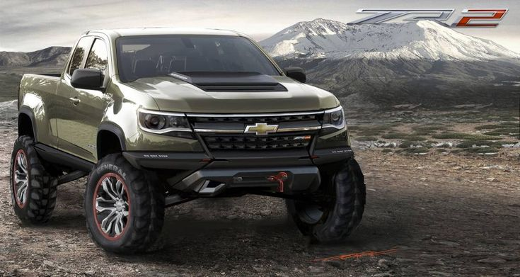 Chevrolet Colorado ZR2 Concept ©  DR