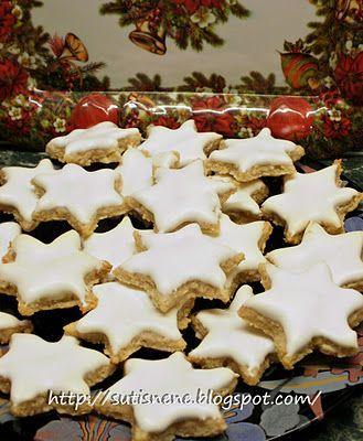 Sütis néne sütödéje: Fahéjas csillag-Zimtsterne