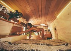 This one room has all the space you need #vanlifediaries // Photo by @mitch.cox…