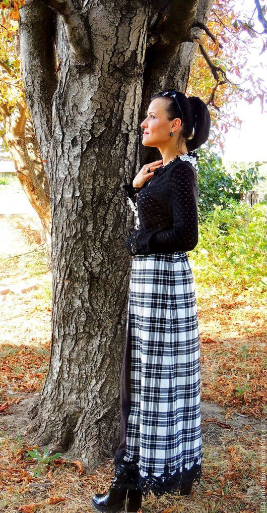 Платья ручной работы. Осеннее макси платье (№2). Liza Ian  Fashion. Ярмарка Мастеров. Платье шерстяное, Платье нарядное