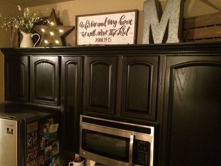 Best 25 cabinet top decorating ideas on pinterest top for Ideas for things to put on top of kitchen cabinets