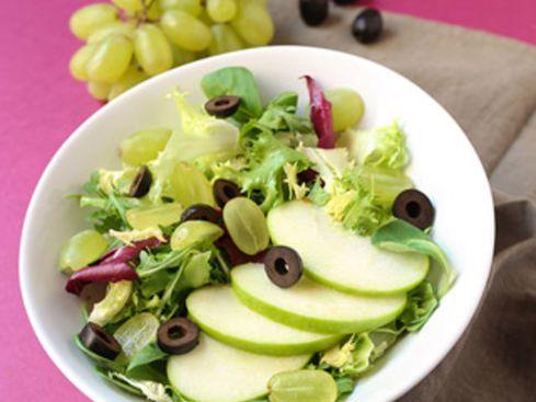 Salade minceur aux quatre saveurs