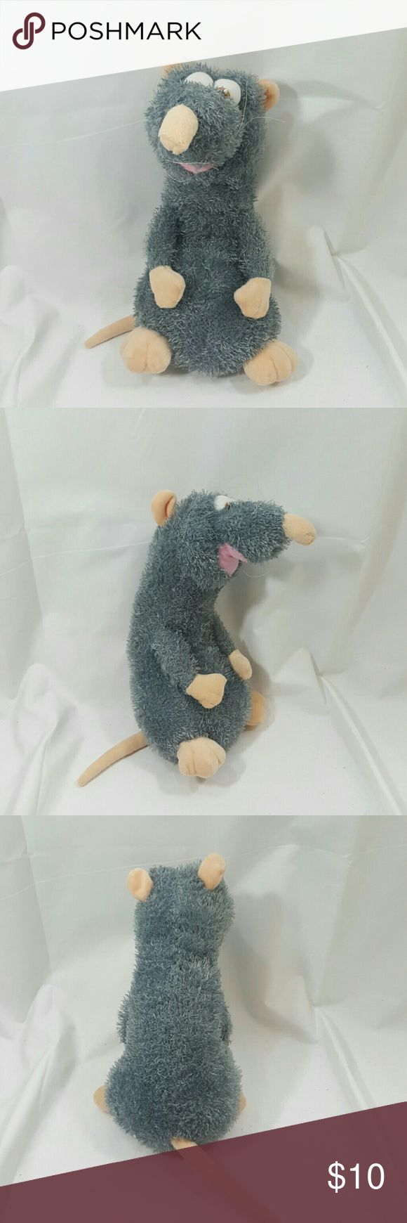 Large Disney Ratatouille Chef Remy Rat Plush EUC. Stuffed soft plush rat from the Disney Pixar movie ratatouille. Great gift for that foodie or Chef on your life. It is 11 inches Tall. Toy Factory.        G1 toy factory Other