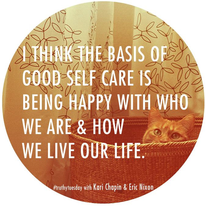 how to take care of oneself