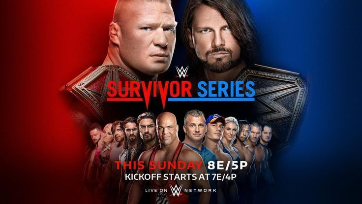 Survivor Series 2017 match card previews start time and more | WWE