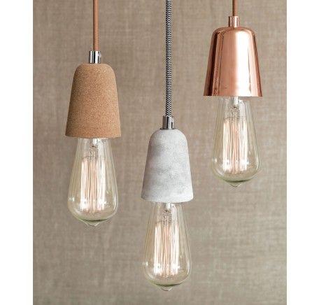 Ando 1 Light Pendant in Copper   Modern Pendants   Pendant Lights   Lighting