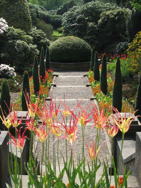 Biddulph Grange Garden - Staffordshire, England.